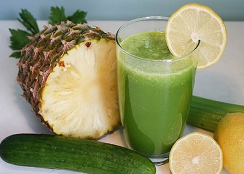 Quick Quencher Pineapple Cucumber Juice