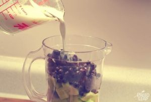 blueberry cucumber smoothie receipe