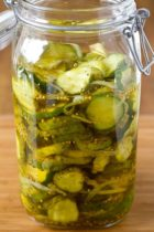 cucumber bread butter pickles