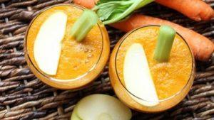 cucumber carrot apple juice