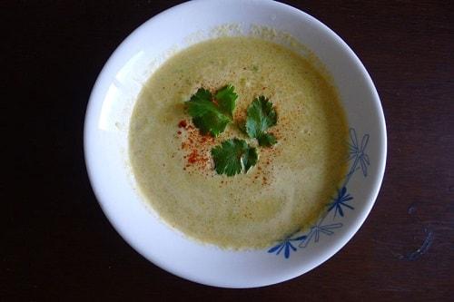vegan cucumber soup