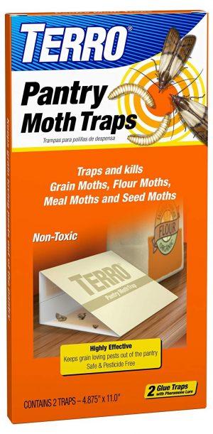 TERRO T2900 2-Pack Pantry Moth Traps