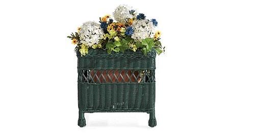 easy-care-resin-wicker-square-planter