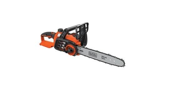 Black & Decker LCS 1240 40 Volt Cordless Chainsaw 12 Inch