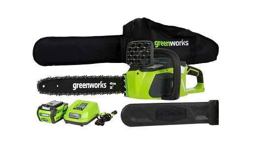 GreenWorks 20312 DigiPro G-Max 40V Li-Ion 16 Inch Cordless ChainSaw