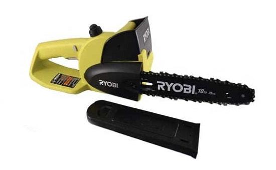 Ryobi P543 One+ 18V Lithium 10 inch Cordless Chain Saw Kit