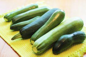Freezing Raw Fresh Whole Zucchini
