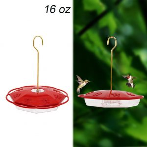 Hanging Hummingbird Feeder with 8 Feeding Ports